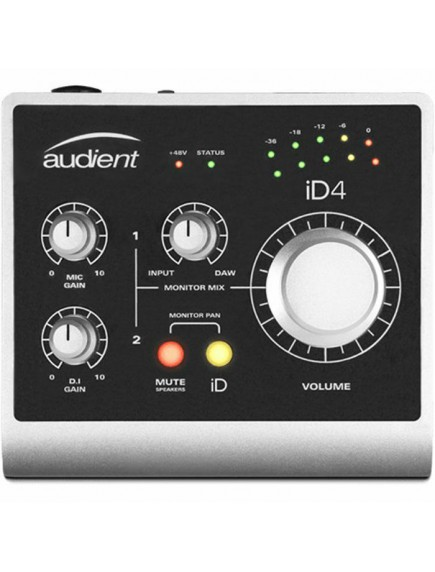 Audient ID4 USB 2 In 2 Out High Performance Audio Interface