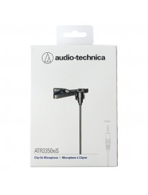 Audio Technica ATR3350XiS - Omnidirectional Condenser Lavalier Microphone For Smartphones