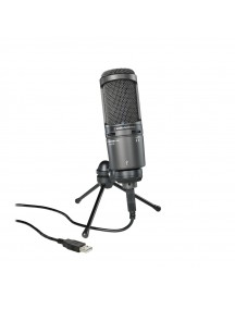 Audio Technica AT2020USB Plus Cardioid Condenser USB Microphone