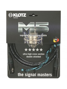 Klotz M5FM06 - High End Microphone Cable with Unique Setup