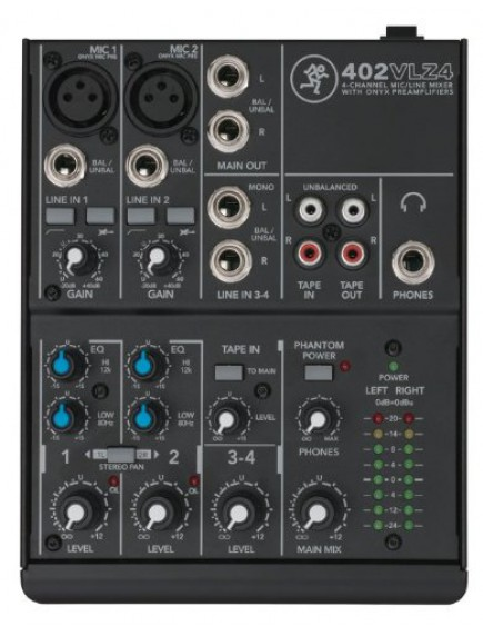 Mackie 402VLZ4 - Compact Analogue Mixer