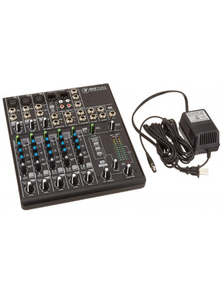 Mackie 802VLZ4 - 8 Channel Ultra Compact Mixer