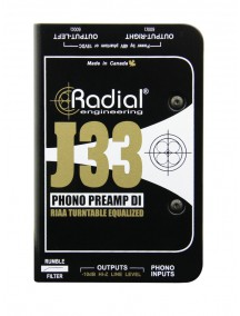 Radial J33 - Phono Preamp and DI
