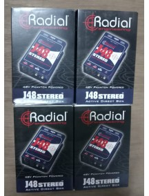 Radial J48 Stereo 2 - Channel Active Instrument Direct Box