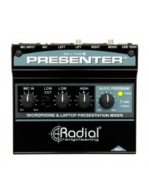 Radial Presenter - Audio Presentation Mixer