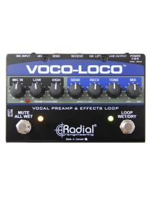 Radial Voco Loco - Effect Switcher For Voice Or Instrument