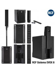 RCF EVOX8 - 8 Two Way Array 1400 Watt PA System