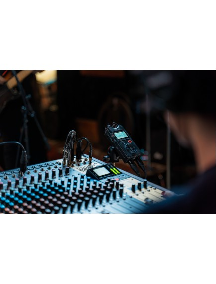 DR-40X Four Track Digital Audio Recorder and USB Audio Interface