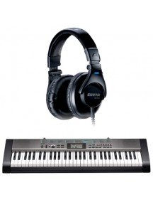 Bundle  Casio CTK 1300 dan Shure SRH440