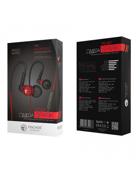 Fischer Audio Omega Spark Earphones