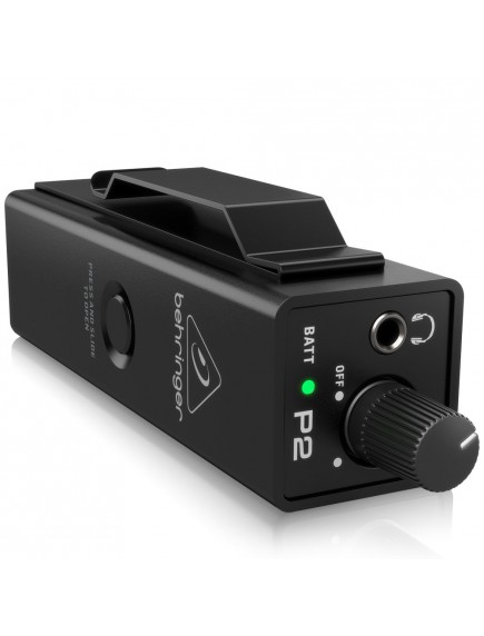 BEHRINGER POWERPLAY P2 - Ultra Compact Personal In Ear Monitor Amplifier