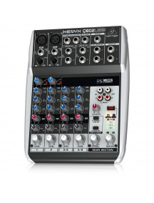Behringer Xenyx Q802USB Premium Mixer with USB/Audio Interface