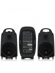 BEHRINGER 8 PPA2000BT - 8 Channel Portable Pa System with Bluetooth