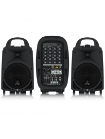 BEHRINGER EUROPORT PPA500BT - 6 Channel Portable PA System with Bluetooth Wireless Technology