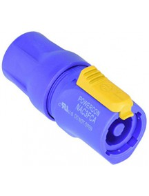 Neutrik NAC3FCA Lockable cable connector, Blue