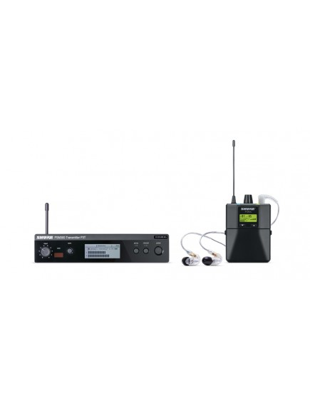 Shure PSM300 with SE215CL Stereo Personal Monitor Systems