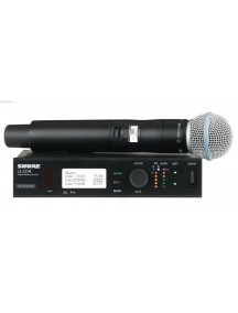 Shure QLXD24 Beta58 Digital Wireless Systems