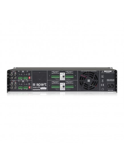APART REVAMP4120T 4-channel 100V bridgeable digital power amplifier