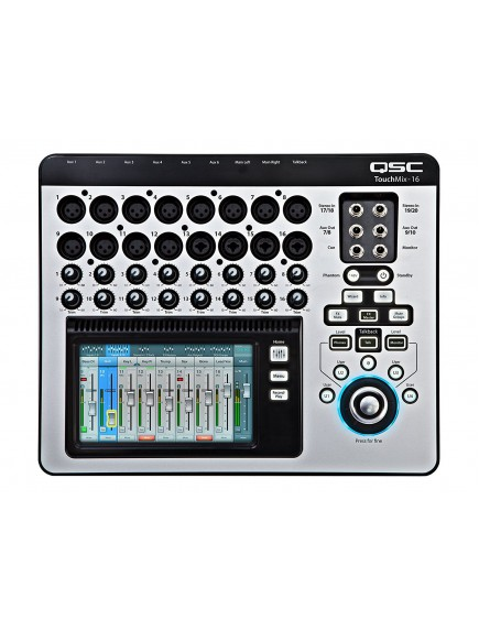 QSC TouchMix16  16 Channel Compact Digital Mixer