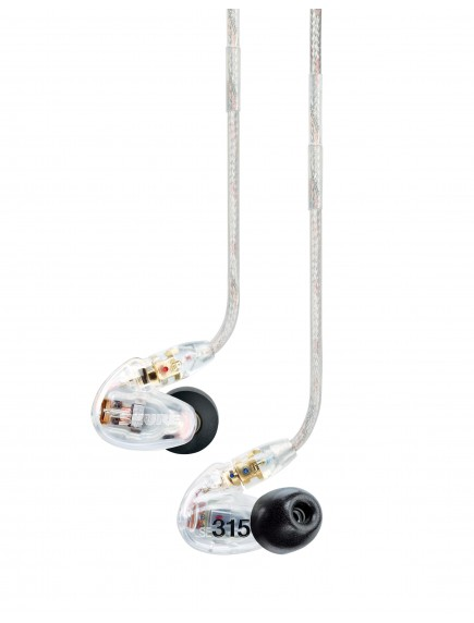 SHURE Earphone SE315 Clear