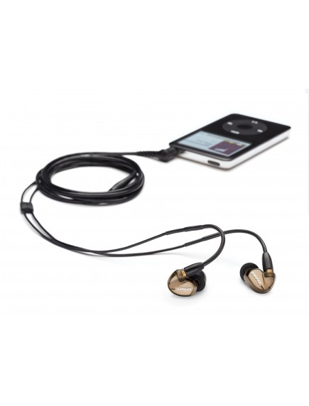 SHURE Earphone SE535 Bronze Metalic