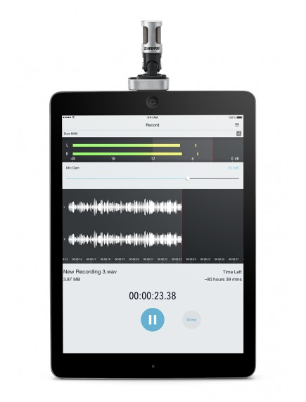 Shure MV88 A iOS Digital Stereo Microphone