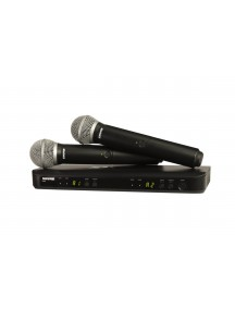 SHURE BLX288 PG58 Wireless Dual Channel Microphone